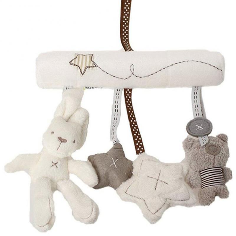 Мягкая детская кроватка кровать, который учится ходить спираль детские игрушки для новорожденных автокресла развивающие погремушки детск...