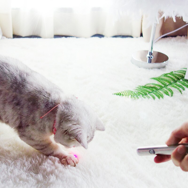 Pet Toy LED Lamp Cat Toy Creative And Funny Pet Cat Toys LED Pointer Light Pen With Bright Pet Interactive Tickle Stick Cat Toy