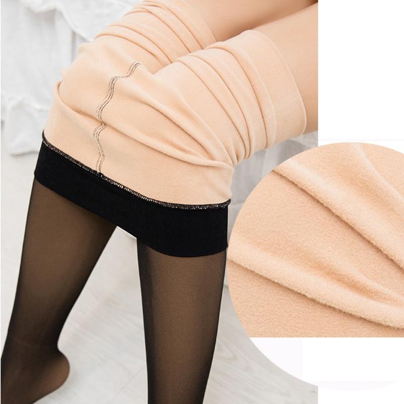 Sexy Women Tights Fashion Winter Pantyhose High Elastic Nylon Pantyhose Stretchy Long Stockings Pantyhose Medias Lingerie
