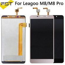 5.7 'pour Leagoo M8/M8 Pro écran LCD + écran tactile numériseur assemblée pour Leagoo M8 Pro pièces de réparation + outils