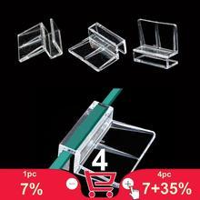 Support daquarium acrylique   Lit de 6/8/10/12mm, support de monture fixe pour les tortues pour grimper les bras, pince pour réservoir de tortues et 5cm