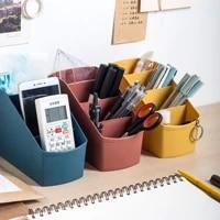 desktop sundries storage box makeup for cosmetic make up brush storage case home office bathroom storage box