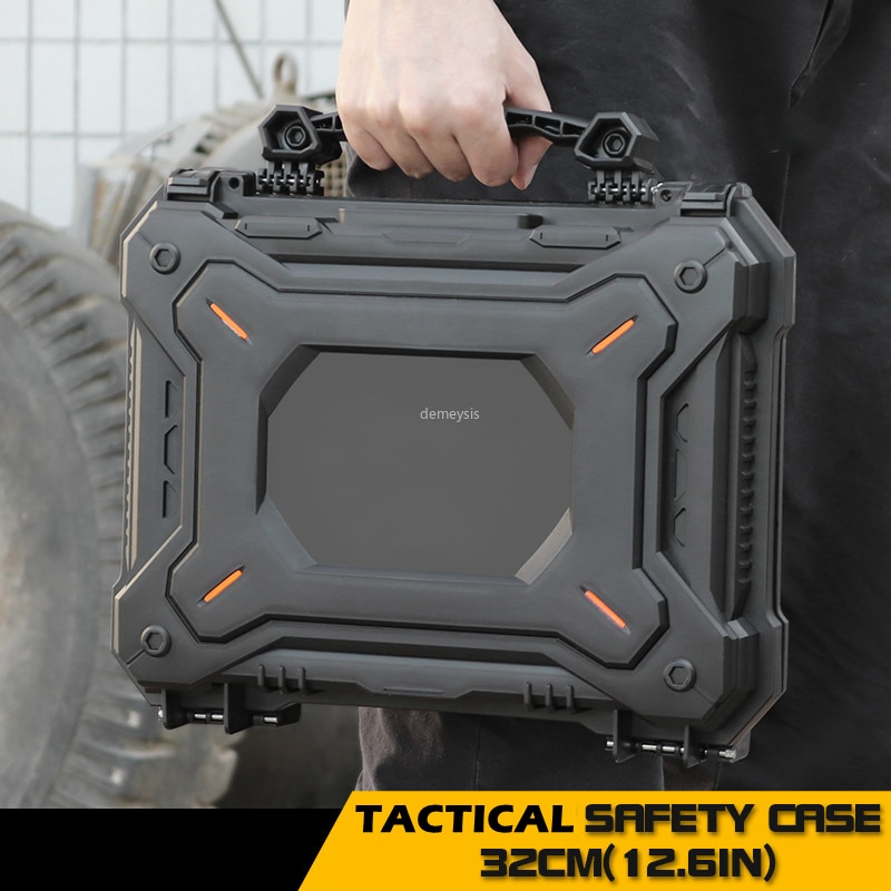 AliExpress - Tactical Pistol Safety Case with Foam Padded Military Airsoft Handgun Case Box Protective Hunting Gun Accessories Camera Case