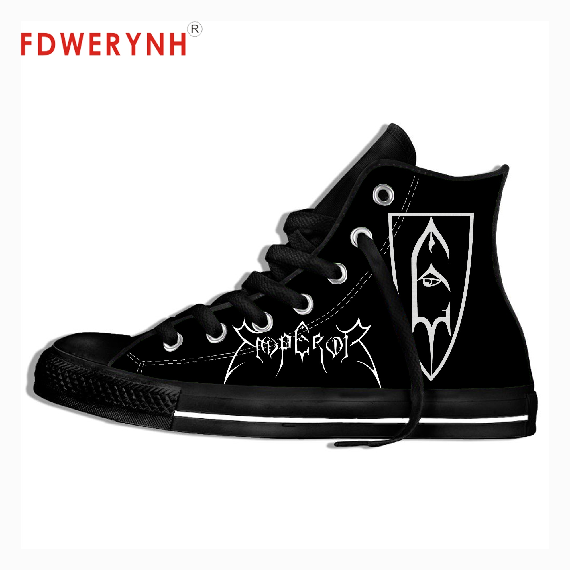 Фото - Men Walking Shoes Casual Canvas Shoes Emperor Band Rock Pop Band Metal Music Fashion Lightweight Breathable Shoes For Women music band