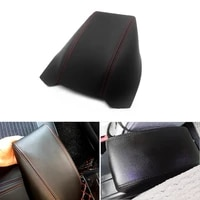 microfiber leather car styling center armrest box pad cover trim for skoda octavia 2007 2008 2009 2010 2011 2012 2012 2014