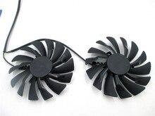 95MM PLD10010B12HH PLD10010S12HH Ventilateur Refroidisseur Pour MSI Radeon R9 380 Armure 2X GTX 1060 1070 1080 TI RX 470 570 RX580 Carte Gaming
