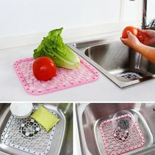 2 in1 wielofunkcyjna podkładka kuchenna podkładki izolacyjne opróżnianie do prób warzywa zapobiegają zlewaniu płyty H2P8