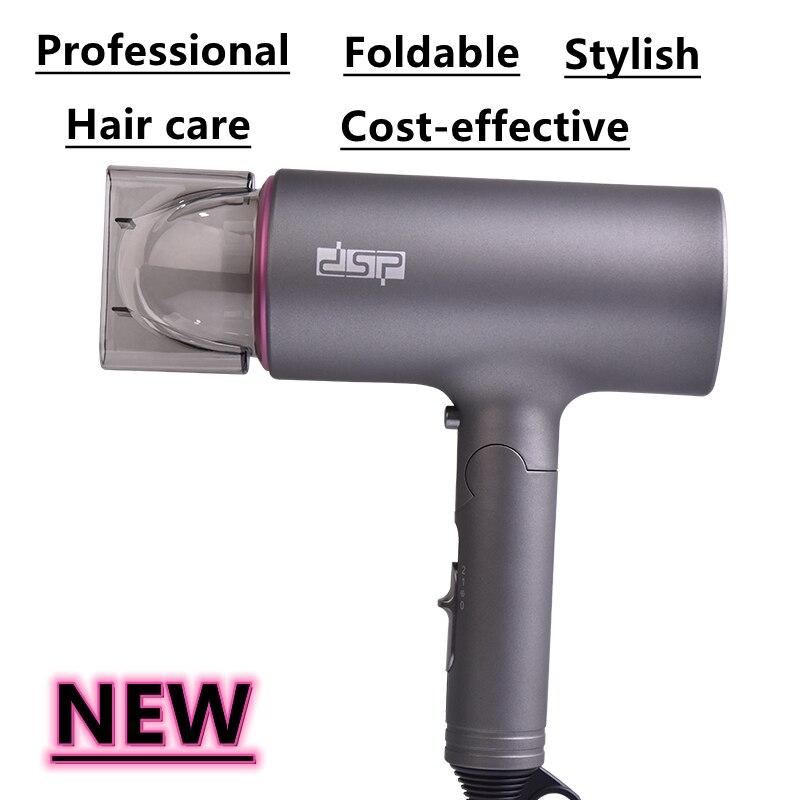 Фен для волос secadores para el pelo secador de cabelo escova secadora مجففات الشعر Viagem Dobrável Secador de Cabelo Profissional