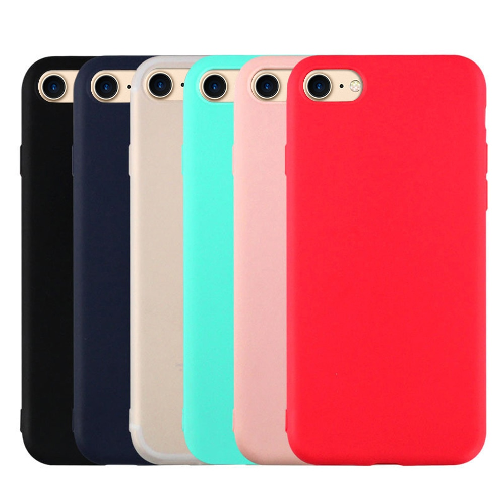 Soft TPU Phone Protective Case For iPhone XR XS MAX X 7 8 Plus Silicone Case For iPhone 6 6s Plus Xs