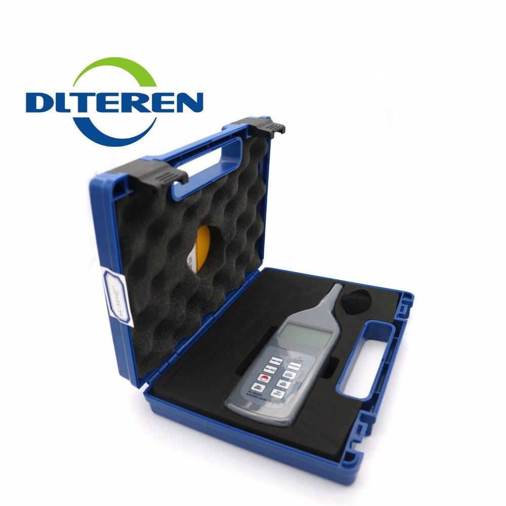 Teren SL5868P Sound/Noise Level Meter Tester Gauge 30~130dB Decibel Memory