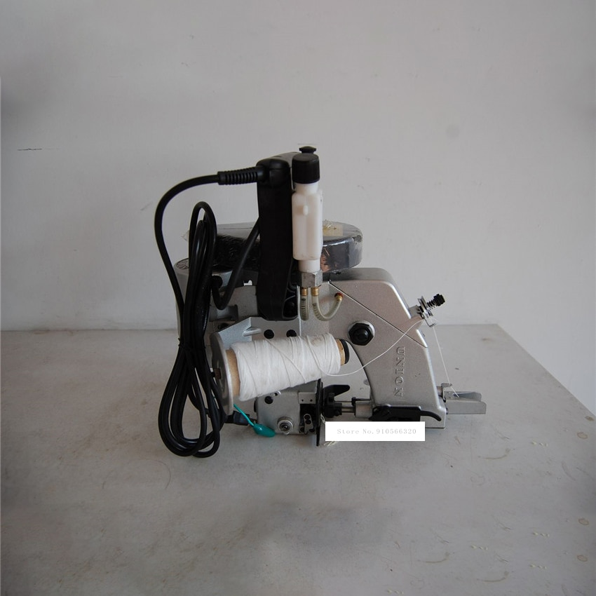 NP-7A عالية السرعة خط واحد سلسلة كيس أقرب الكهربائية حزمة آلة السيارات النفط تغذية الموضوع قطع حزمة ماكينة خياطة