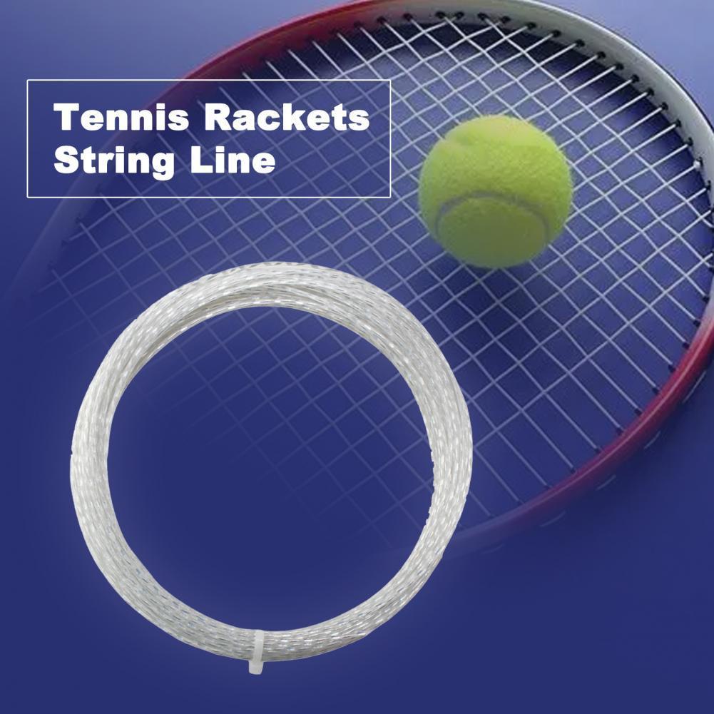 Высокоэластичные теннисные ракетки, 1,30 мм, многонитевые теннисные ракетки для тренировок, теннисные ракетки, влагостойкие теннисные ракет...