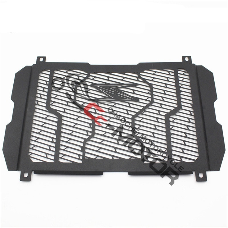 Серебристый черный мото решетка протектор бак для воды защита для Kawasaki Z650 Z900 moto rcycle радиатор Защитная крышка решетка