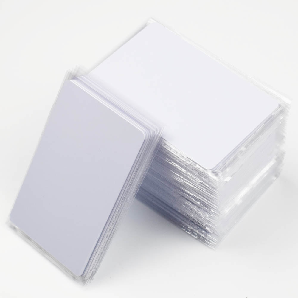 30pcs/lot RFID Card 13.56Mhz IC Cards S50 Classic 1K M1 Proximity Smart 0.8mm For Access Control System ISO14443A