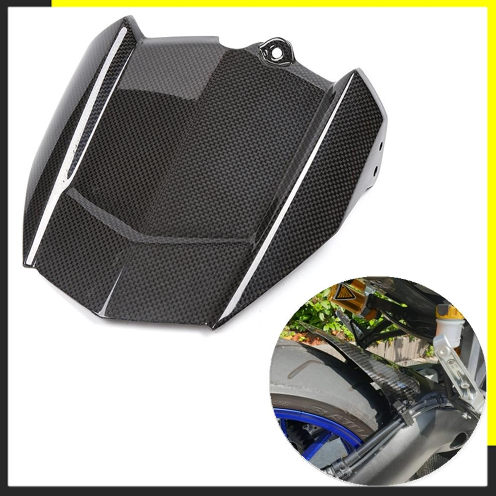Motorcycle Carbon Fiber Rear Fender For Yamaha MT09 FZ09 MT FJ 09 Tracer XSR 900 2014 2015 2016 Cover Mudguards Splash Mud Guard недорого