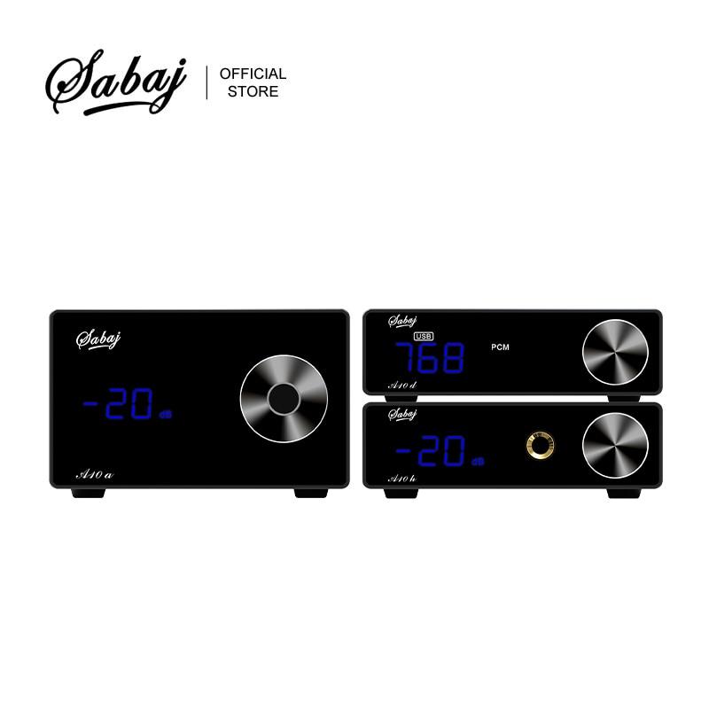 Sabaj A10 سلسلة مجموعة HIFI الصوت DAC A10d + الرقمية مكبر كهربائي A10a + مضخم ضوت سماعات الأذن A10h سطح المكتب مع جهاز التحكم عن بعد