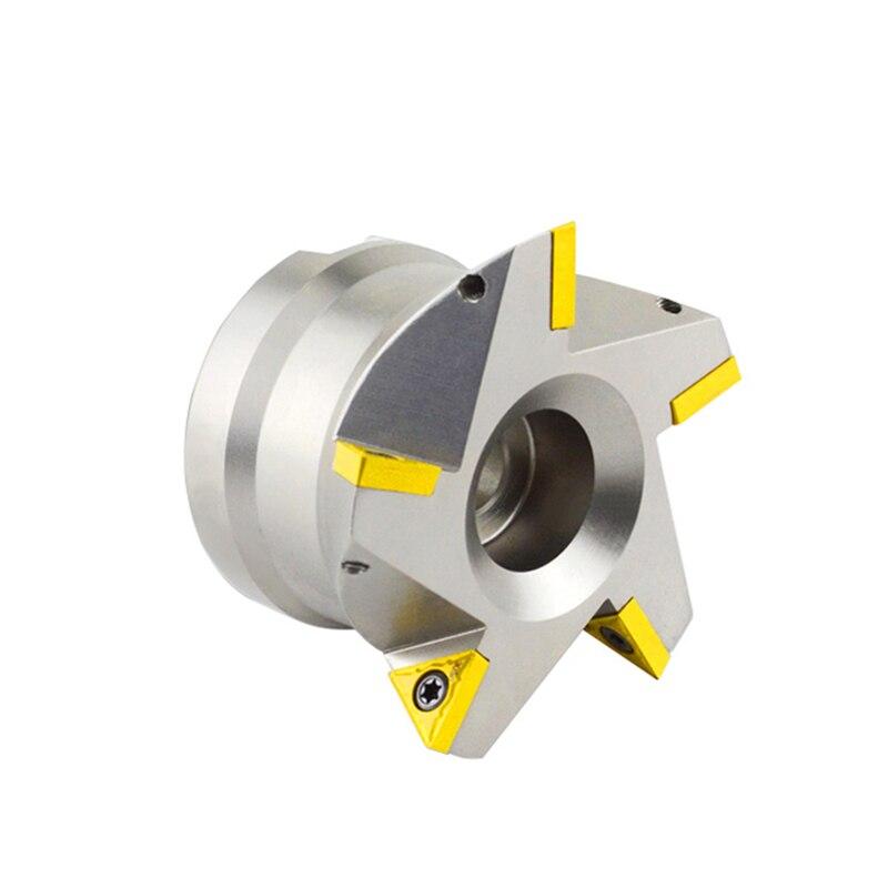 TCWR60 grados, cola de milano, ranura de ranurado CNC, fresadora de disco, hoja de turbina a vapor, ángulo único, cortador de cola de milano de 60 grados