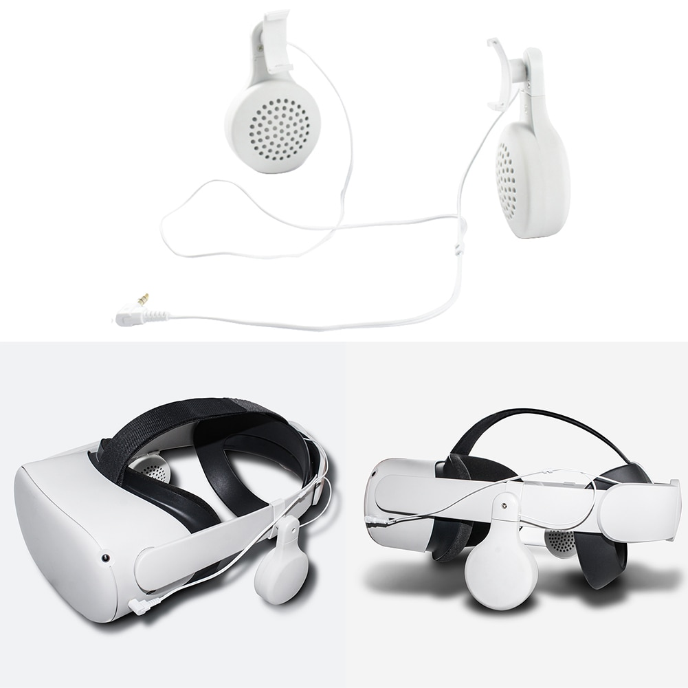 white-portable-abs-plastic-vr-wired-headphones-for-oculus-quest-2-virtual-reality-headset-accessories-audio-video-earphones