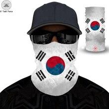 Off White Magic Headband Headwear Funny Flag 3D seamless Horror Headscarf Outdoor Sports face mask Fashion Bandana Scarf Men