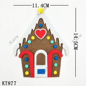 Christmas house cutting dies 2019 new die cut &wooden dies Suitable  for common die cutting  machines on the market