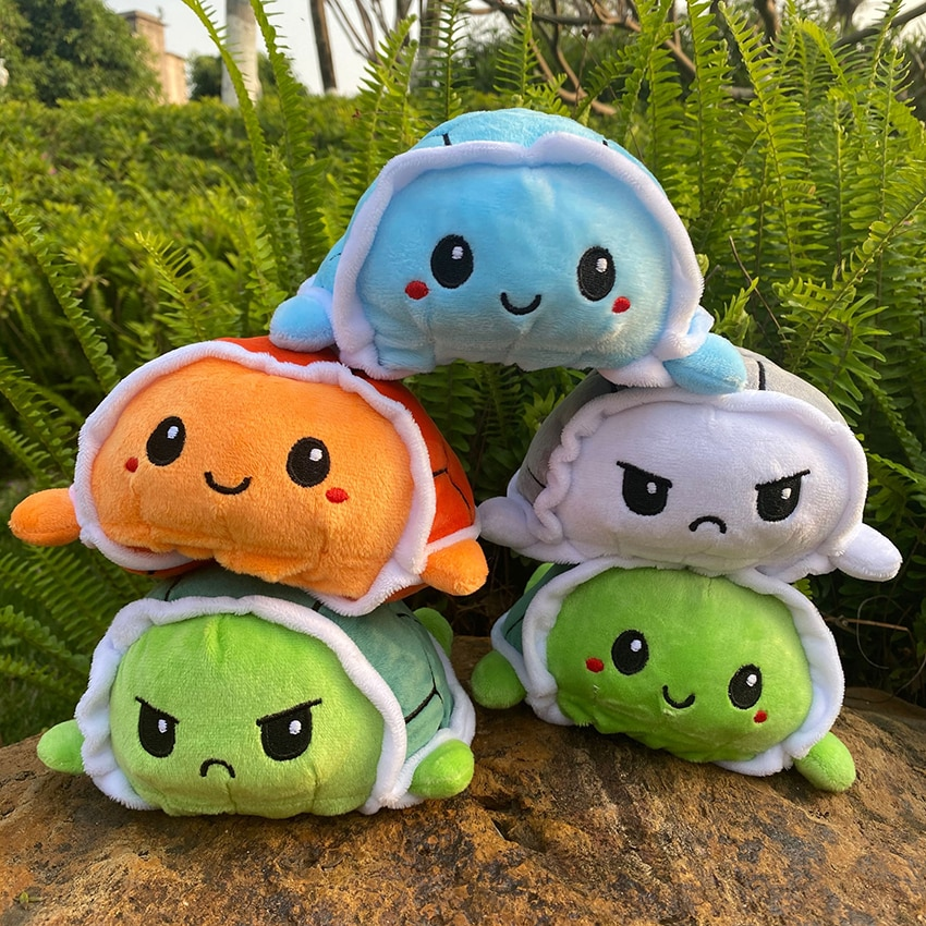 colorful cute caterpillar big insect plush toys doll with pp cotton stuffed animal pillow for children adult gifts TurtlePlushToyStuffedAngryFlipHappyToysSoftCuteDouble-SidedColorfulAnimalDollPopularChildrenGifts