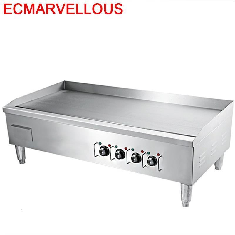 Parrilla eléctrica portátil para cocina, Asador eléctrico para Barbacoa, Barbacoa, Parrilla para...