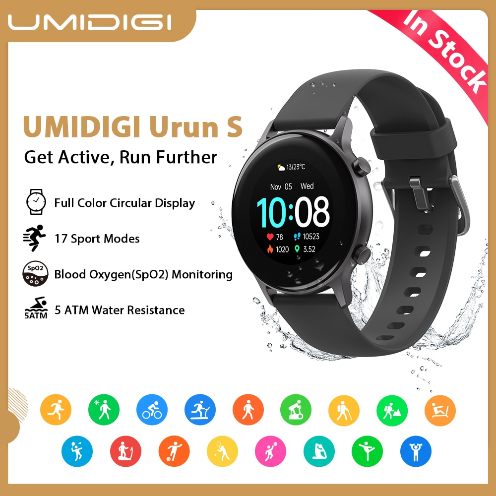 UMIDIGI Urun S Smartwatch Fitness 1.1
