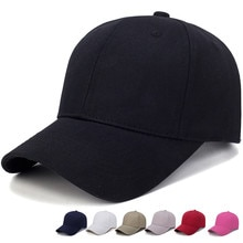 Fashion Women Men Hat Cotton Light Board Solid Color Baseball Cap Men Cap Outdoor Sun Hat djustable Sports caps in summer