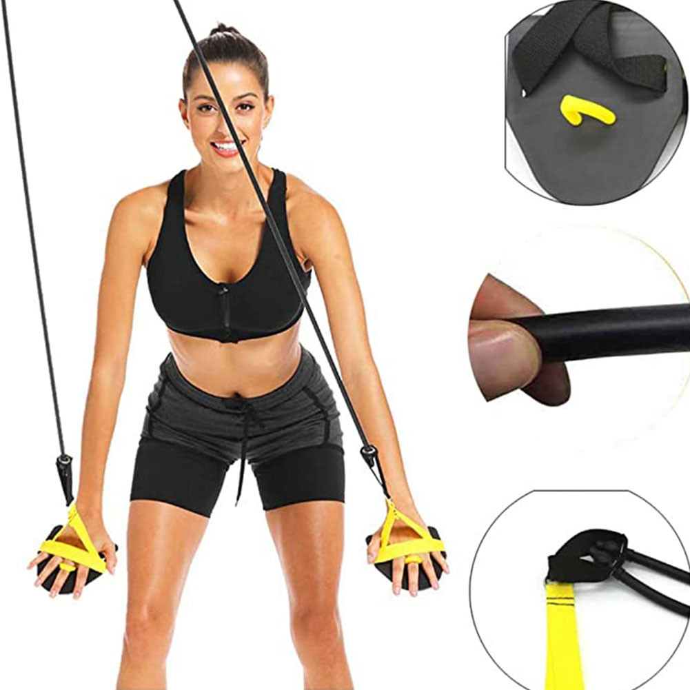 Swimming Trainer Arm Strength Trainer 60 Pounds Swimming Resistance Exercise Bands Set for Swimming Training Swim Bands Training