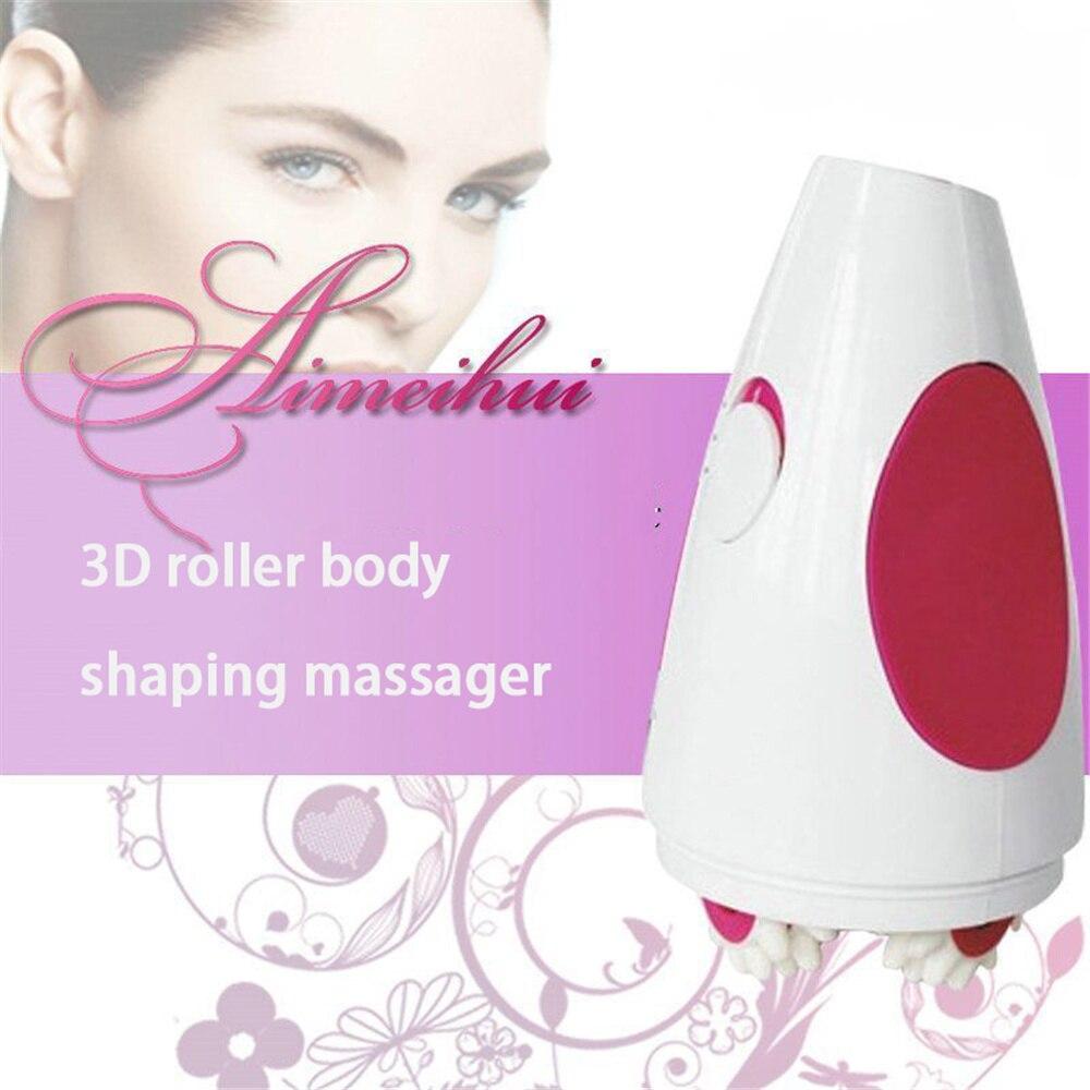 3D роликовый массажер для коррекции фигуры, массажер для похудения и целлюлита, массажер для тела, стимулятор мышц, массажеры для тела