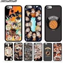 KETAOTAO Anime Haikyuu   Soft Silicon Soft TPU Phone Case for Iphone 5S SE 6S 7 8 Plus X Xs Xr 11 Max
