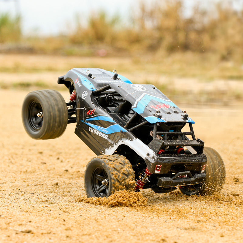 Remote Control Off-road Vehicle 4WD Drive High-speed RC Drift Racing Professional Bigfoot Climbing Remote Control Car Boy Toy