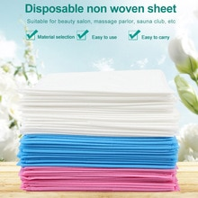 10pcs 80x180cm Disposable Sheets Breathable Solid Salon Tattoo For Massage Bed Table Cover Spa Busin