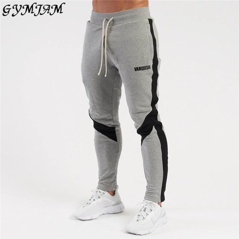 Модные мужские брюки 2020 новая уличная брендовая мужская одежда jogger хлопковые мужские брюки для фитнеса уличные повседневные брюки