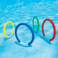 Diving Rings Underwater Swimming Rings Sinking Pool Toy Rings For Kid Children
