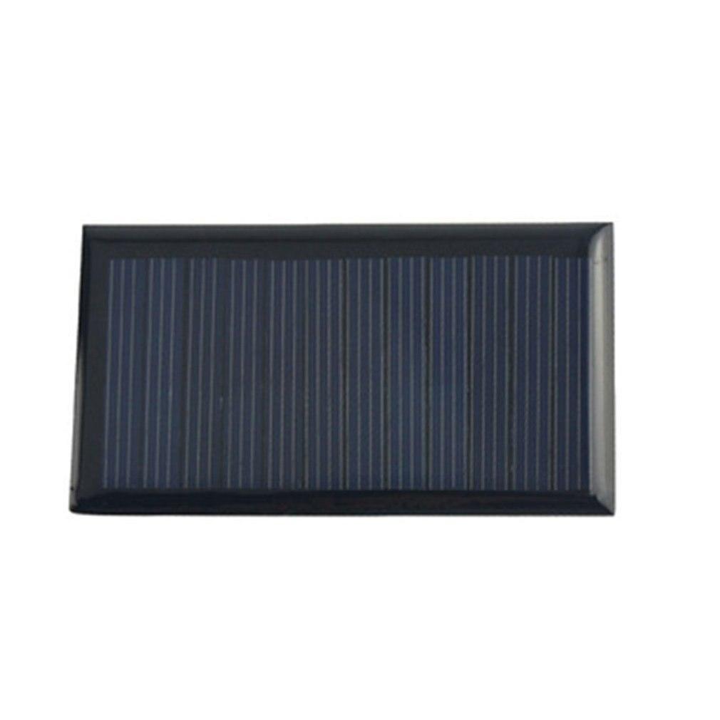 2 pçs conjunto de painel solar 12 v volt telefone celular carregadores 12 v dc mini diy kit solar para carro ônibus rv bateria externa carregamento 80x45mm