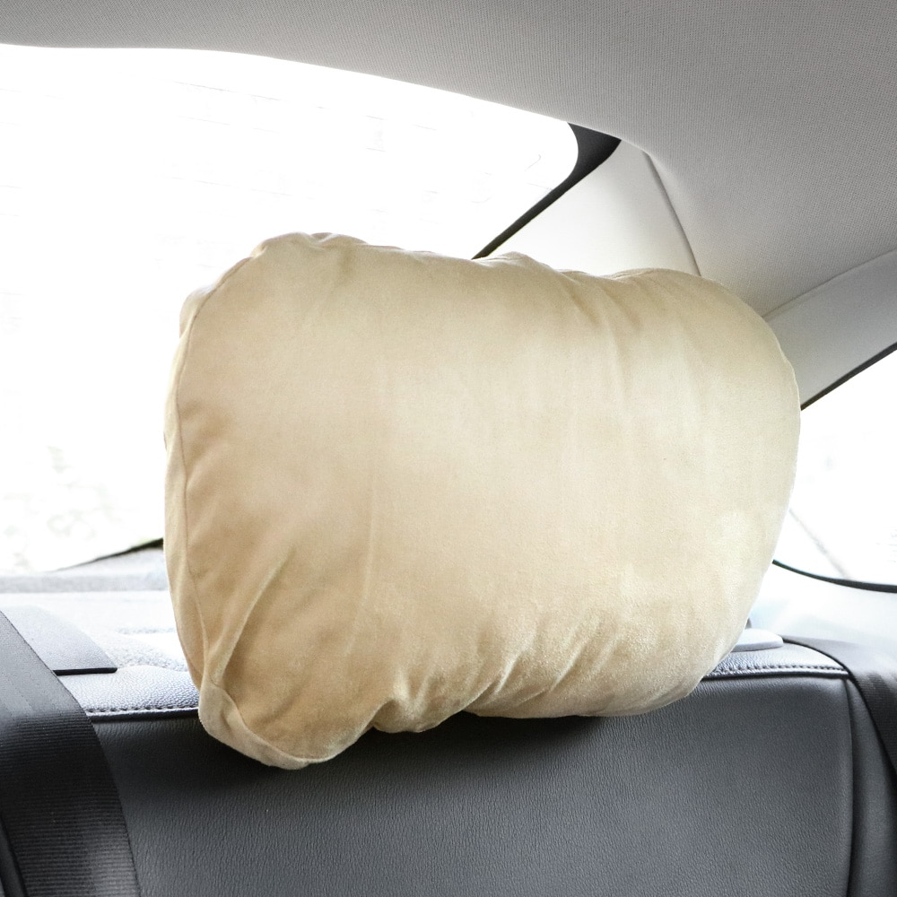 Breathable Car Neck Pillow Soft Car Headrest Car Pillow Head Neck Support Car Pillow Interior Accessories Car-styling