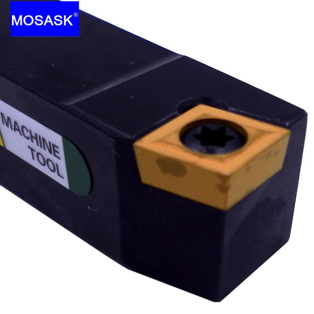 MOSASK SCBCL Adapter SCBCL1212H09 Cutter CNC Lathe Arbor Tungsten Carbide Insert External Turning Tool Holder