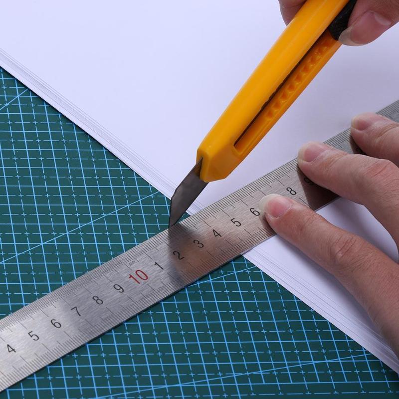 Estera de corte profesional A5 A3 PVC de doble cara autocurativa antideslizante DIY, estera de corte, tarjeta artesanal, papel de tela de cuero Board45 * 30