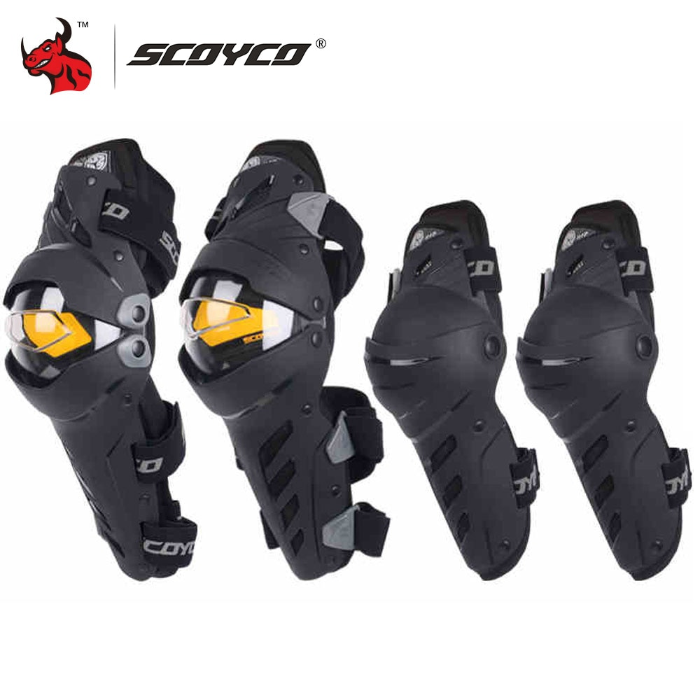 scoyco k17h17 motorcycle elbow pad protective gear motorcycle protector gear outdoor guards motorcycle protective kneepad SCOYCO Motorcycle Knee Elbow Combo Kneepad For Men Protective Sport Guard Motocross Protector Gear Motocicleta joelheiras