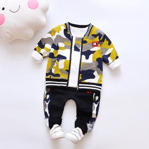 Baby Boy Clothes Sets Spring Autumn Baby Boys Clothes Set Infant Cotton Girls Tracksuit 3pcs New Fashion Kids Clothes Set