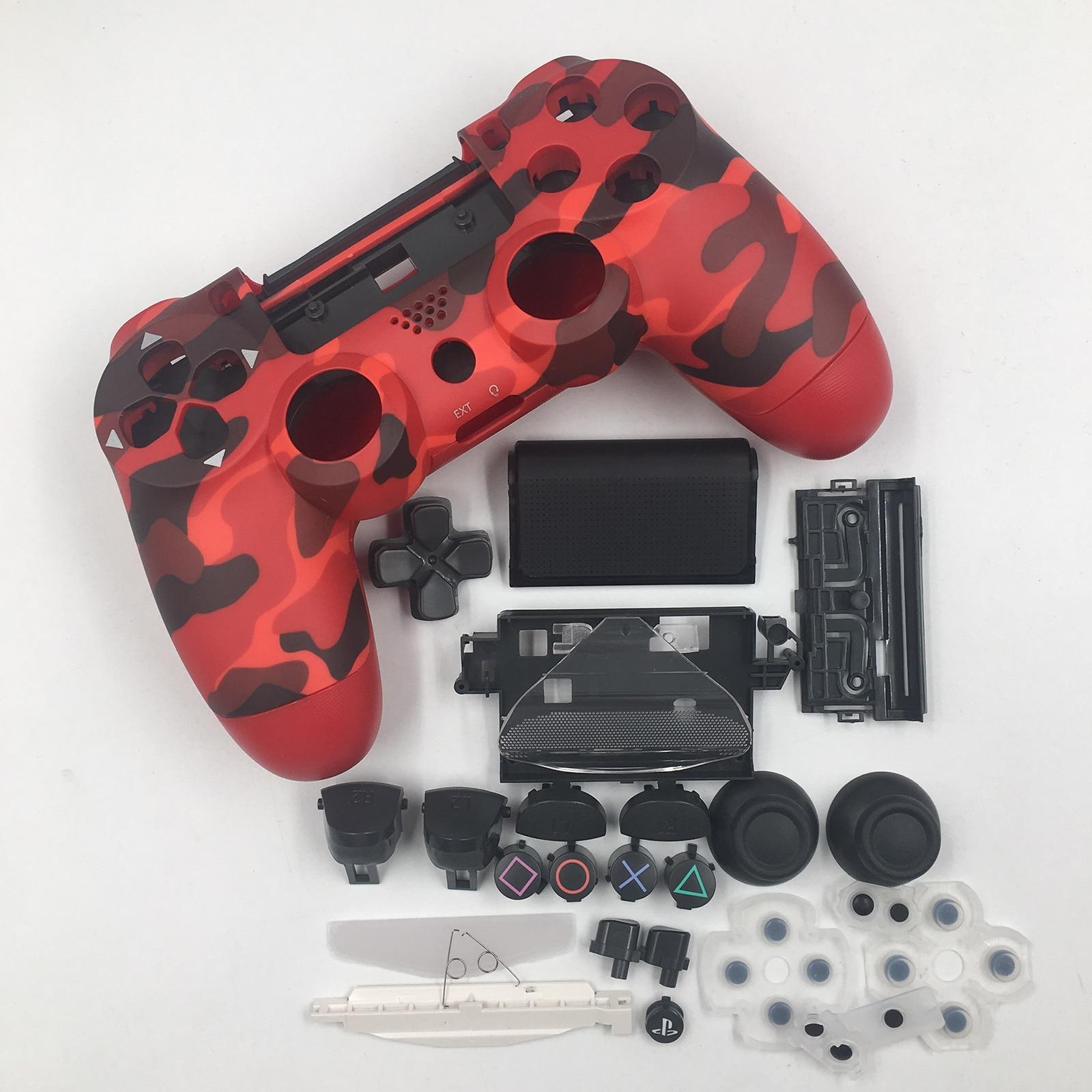 Сменный Корпус чехол с кнопками Набор DIY мод комплект для Sony Playstation PS4 Slim 4 контроллер запасные части