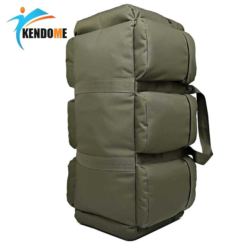 Рюкзак мужской, большой вместимости 90Л, военный, тактический, водонепроницаемый, Оксфорд, походный, для кемпинга, износостойкий, дорожная сумка