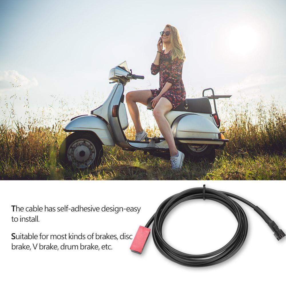 電気マウンテンバイク車のvブレーキ電源オフ信号センサースイッチ見えないブレーキオイルブレーキ