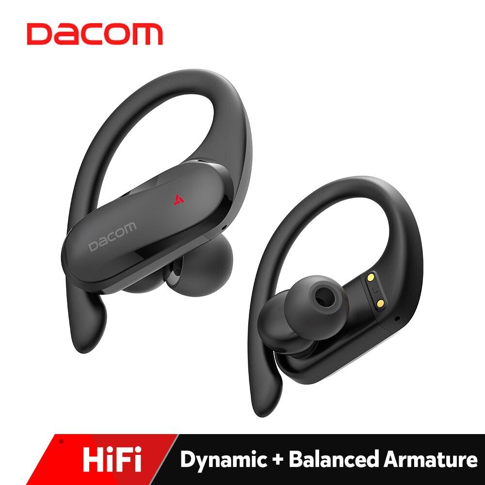 DACOM Athlete TWS Pro Bluetooth Earbuds for Sports Hybrid Driver Earphones True Wireless Stereo Headphones HiFi Waterproof
