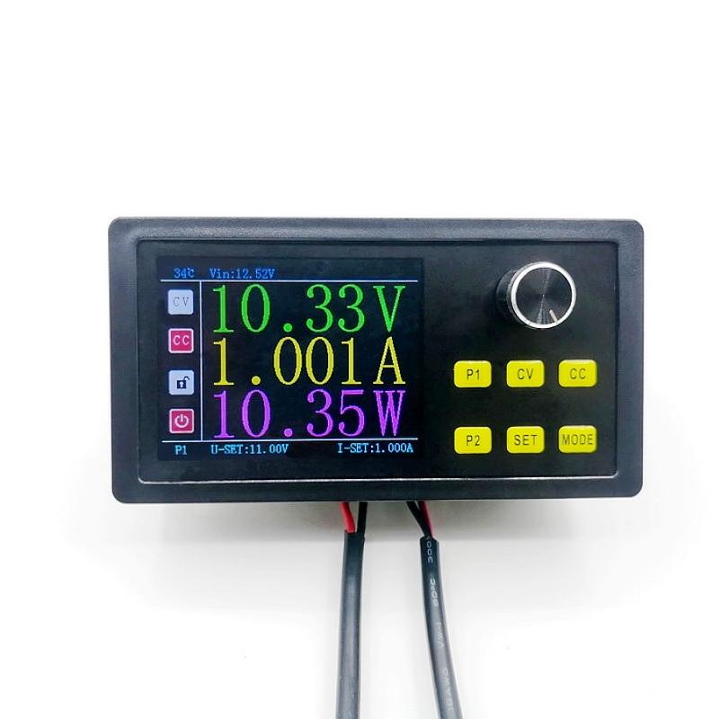 2.8 Inch Lcd Dc Dc Buck Converter Cc Cv Power Module 60V 5A 300W Verstelbare Gestabiliseerde Voeding RS485 Modbus