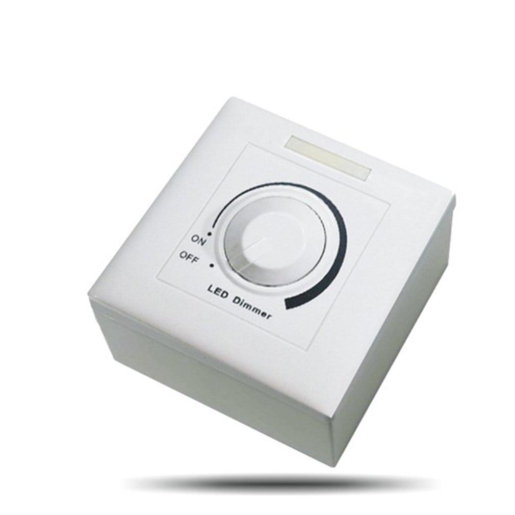 CC 0-10V Led Dimmer Switch controlador ajustable Controlador Led con regulador para luz regulable Downlight foco Led bombilla