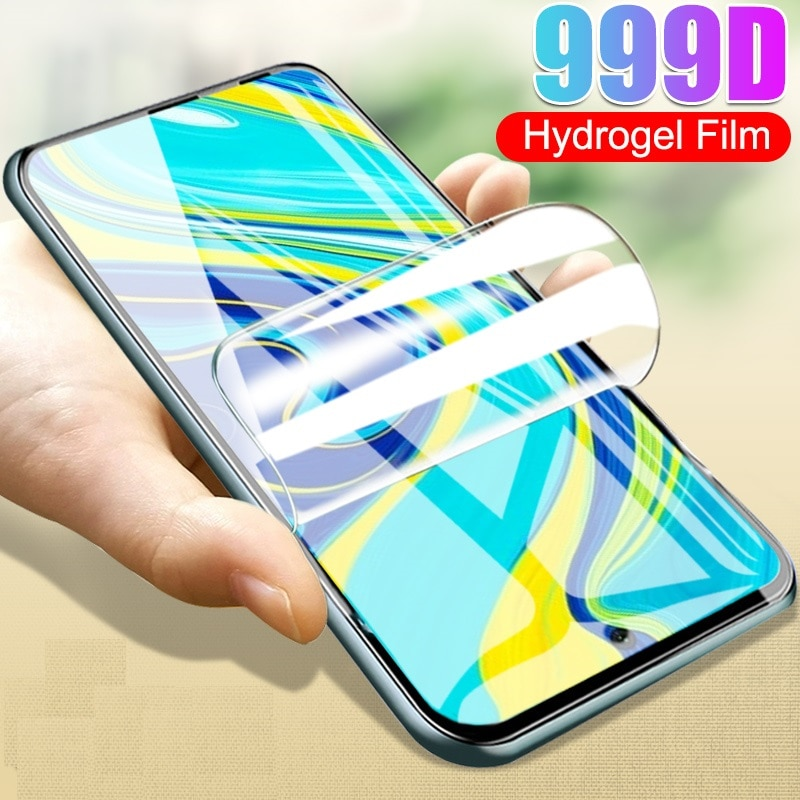 9H Hydrogel Film for ZTE Blade 20 smart A3 A5 A7 2019 2020 A622 L8 V10 Vita A530 Protective Film Screen Protector cover