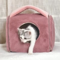 new cat nest pet bed four seasons universal cat bed autumn and winter soft and washable kennel cat nest pet supplies