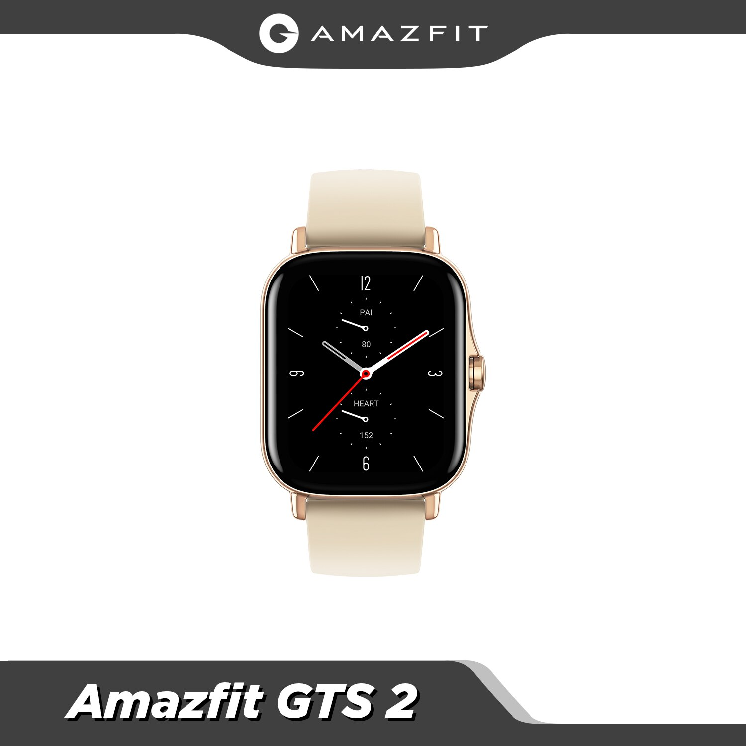 Promo Global Amazfit GTS 2 Bluetooth Smartwatch Swimming Alexa Built-in 12 Sport Modes Smart Watch For Android For iOS